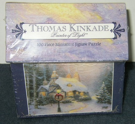 Thomas Kinkade Mini Jigsaw Puzzle