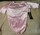 NEW Rainbeau Bodywear Dance Leotard * Girls Large * pink