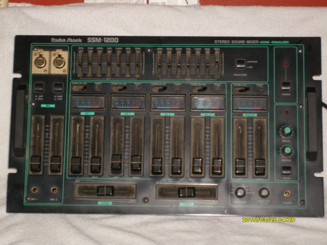4 Channel Stereo mixing board