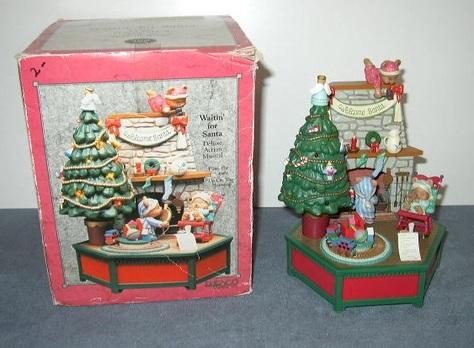 """Waitin' for Santa"" -- Deluxe Action Musical Gadget"
