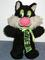 Stuffed Cartoon Toy - Sylvester the Cat
