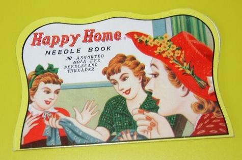 Happy Home Needle Book