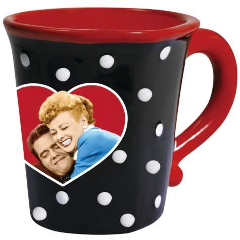 I LOVE LUCY LUCY LOVES RICKY MUG