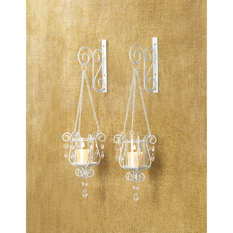 Bedazzling  Pendant  Duo Sconce
