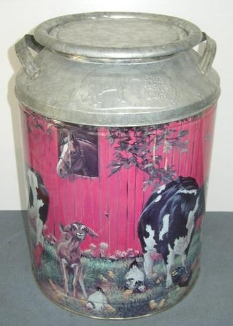 Cows Milk-Can Tin