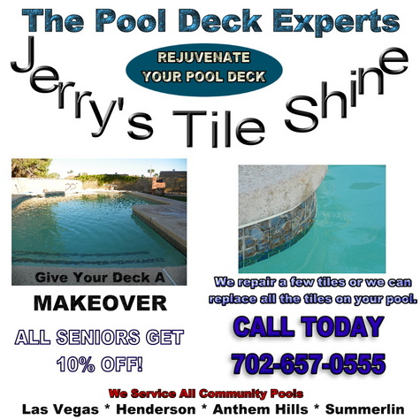 Jerry's Tile Shine - Servicing All Community Swimming Pools