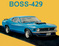 Boss 429 Ford Mustang Cross Stitch Pattern***LOOK***