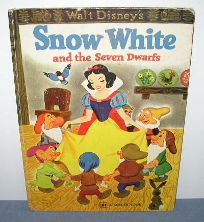 Walt Disney's Snow White and the Seven Dwarfs - A Golden Book
