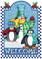 Snow Man Holiday Cross Stitch Pattern***LOOK***