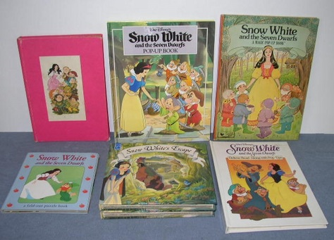 Snow White Puzzle & Pop-Up Books