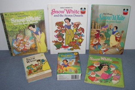 Set 1 -- Six (6) Snow White Books