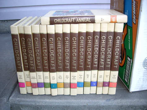 CHILDCRAFT 1972 ENCYCLOPEDIA PLUS