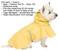 XL Dog Raincoat with Reflective Strap ~ Fashion Pet
