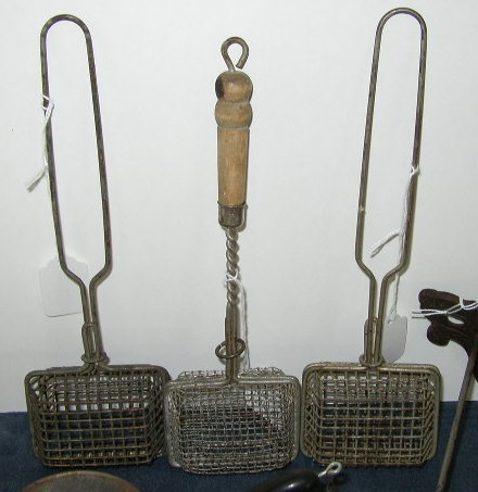 Antique & Primitive Kitchenware - Metal Soap Savers