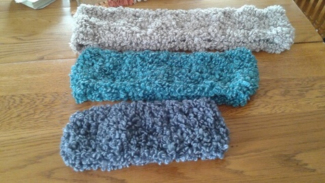 """cowls and headbands 22"""" to43"""""""