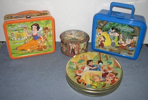 Snow White Lunch Boxes & Tins