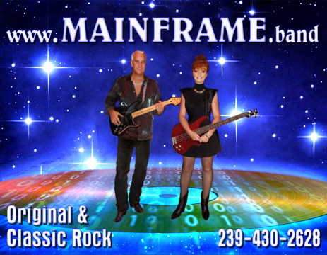 MAINFRAME Classic Rock Band For Hire