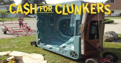 Cash for hot tub clunkers