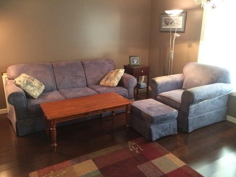 sofa chair ottoman and coffee table