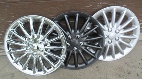 Chrome---Gun Metal---Silver