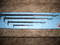 NEW NEVER USED SNAPON 4 PIECE PRY BAR SET HEAL BARS