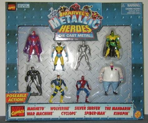 Marvel's Metallic Heroes Die Cast Metal