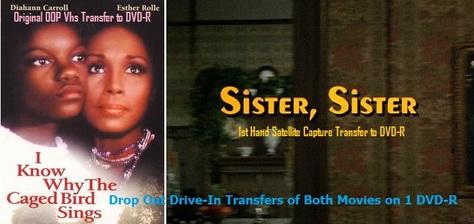 2 Tv Movies based on Maya Angelou stories on 1 DVD-R in ArtCase w/FREE U.S. S&H