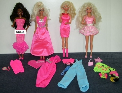 Barbies - Items #1 - #4