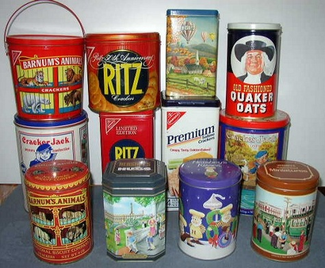 Vintage, Advertising Food Tins