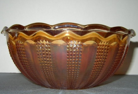 Diamond Point Column Bowl