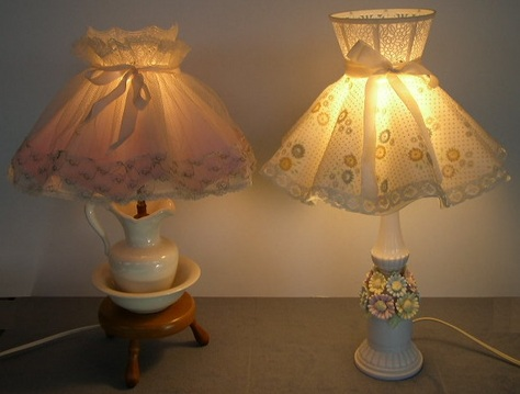 Vintage, Cottage-Style Lamps