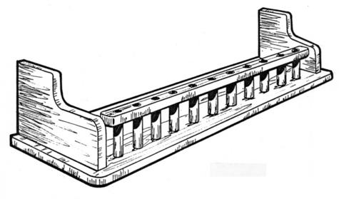Galley Shelf Pattern #157