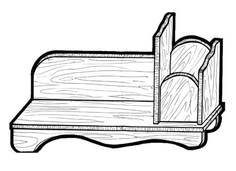 Book Organizer #177 - Woodworking / Craft Patterns.