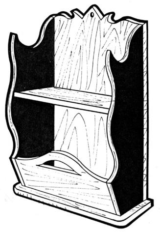 Shelf Planter #155 - Woodworking / Craft Pattern