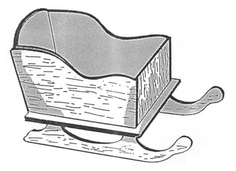 Sleigh Planter #152 - Woodworking / Craft Pattern