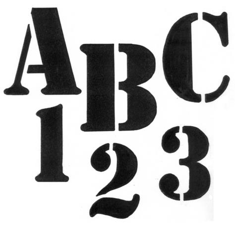 TRACEABLE ALPHABET #123 -