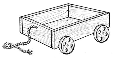 Wagon of Fun #906/6 - Woodworking / Craft Pattern