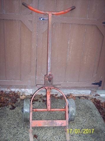 steel drum/barrel mover