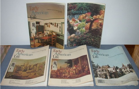 Early American Life magazines 1980