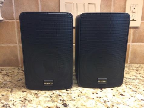 Optimus Pro-X 55AV Speaker System