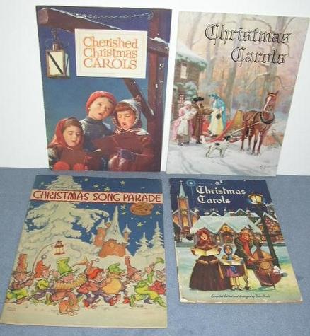 Vintage, Christmas Song Books