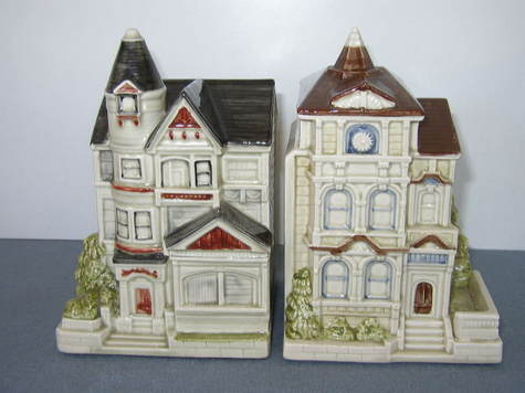 Victorian Cottage Bookends