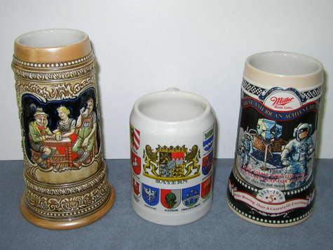1980's Beer Steins
