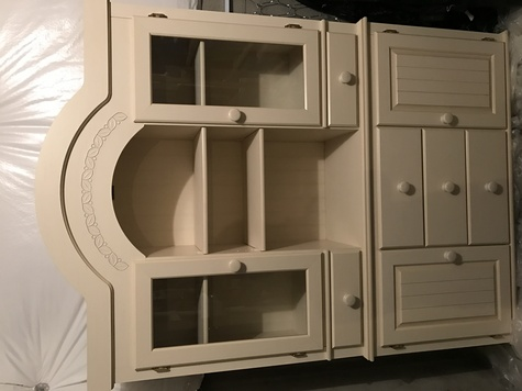 Hutch for dining or kitchen area