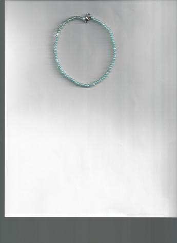 Something blue bracelet (shown on light background)