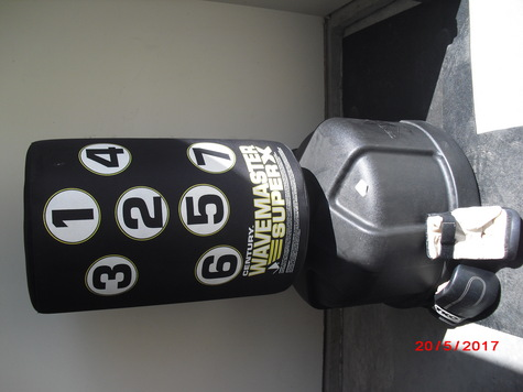 Training Bag with gloves