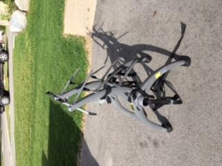 SARIS 3 bicycle Bike Rack