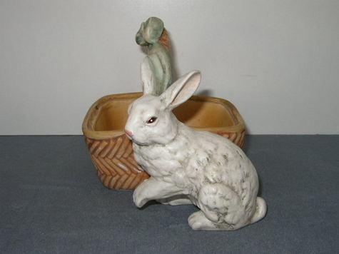 Ceramic Clay, Bunny Basket