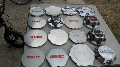 G M C   CENTER  CAPS  ---$ 20 each
