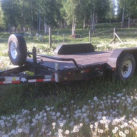 Heavy duty trailer